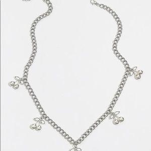 Jewelry - Cute silver cherry chain